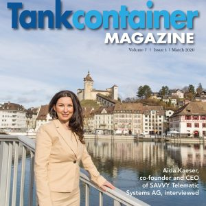 Aida Kaeser, co-founder and CEO of SAVVY Telematic Systems AG